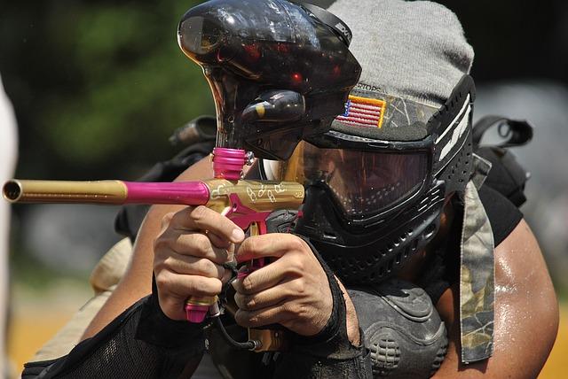 paintballová pistole