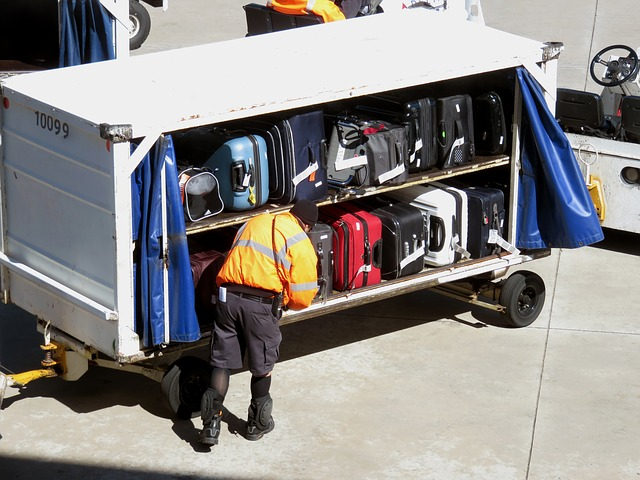 pracovník letiště
