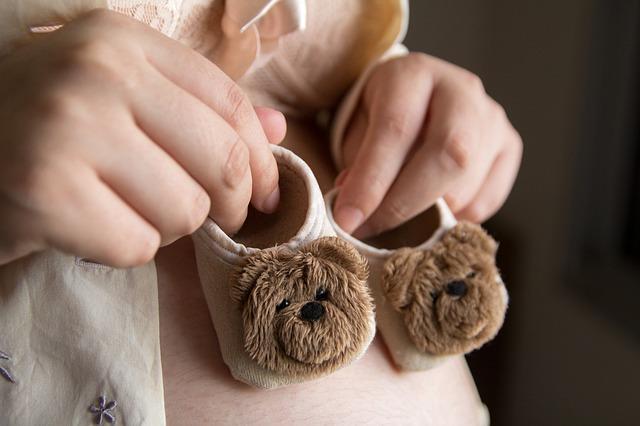 těhotenství, dětské bačkůrky